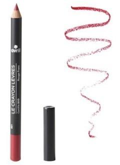 Crayon contour des lèvres bio Rouge Franc