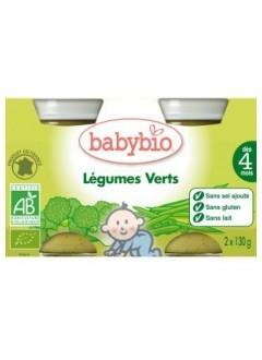 Petits pots Légumes verts