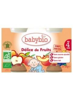 Petits Pots Fruits Délice de Fruits Bio - Babybio