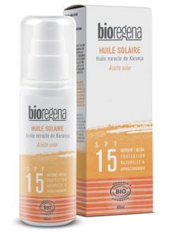 Huile solaire SPF 15 Bio - spray 90 ml
