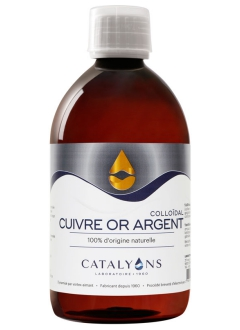 Cuivre or argent - 500 ml