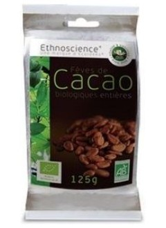 Fèves de cacao bio entières - 125 g