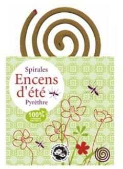 Spirales Encens d'été anti-moustique jardin