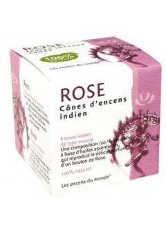 Cônes d'encens indien Rose naturelle