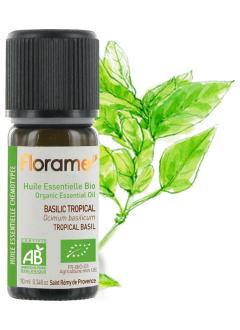 Huile essentielle Basilic Tropical BIO