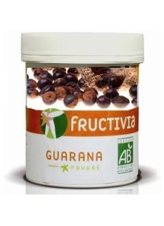 Guarana Poudre Bio de la marque Fructivia