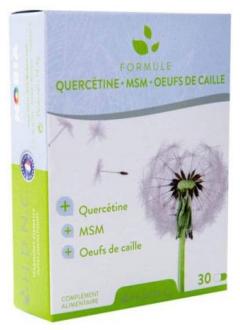 Formule Quercétine - MSM - Oeuf de Caille