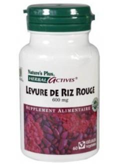 Levure de riz rouge 600 mg - Herbal Actives de la marque..
