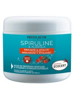 Spiruline Acérola - 300 comprimés