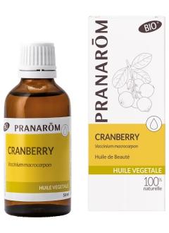 Huile végétale de Cranberry Bio