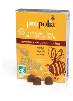 Gommes de propolis - Miel bio