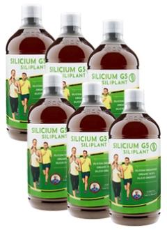 Silicium G5 Siliplant - Lot de 6 Litres