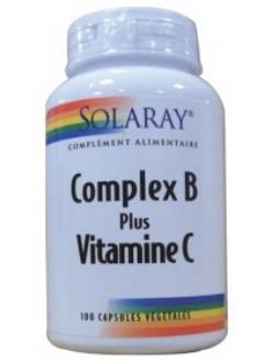 complex b vitamine c de la marque solaray. Black Bedroom Furniture Sets. Home Design Ideas