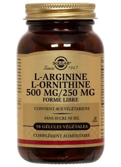 L-Arginine L-Ornithine 500 / 250 mg