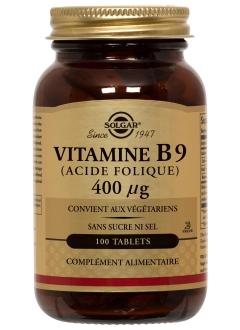 Vitamine B9 (Acide Folique) 0,4 mg