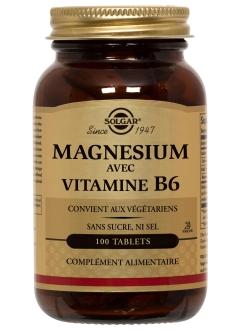 Magnesium + vitamine B6