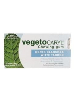 Chewing-gum dents blanches